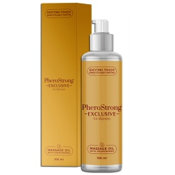 Olejek do masażu, damski - PheroStrong EXCLUSIVE massage oil 100 ml